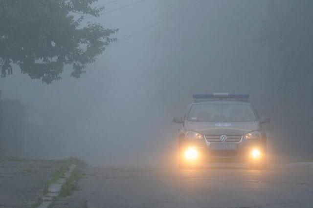 До уваги водіїв! У вівторок на території країни тумани та ожеледиця!