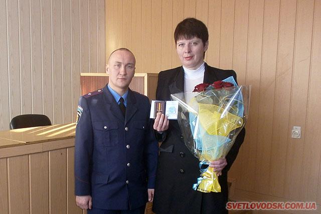 Медаллю «За гідність та патріотизм» нагороджено волонтера Ірину Бєлоконенко
