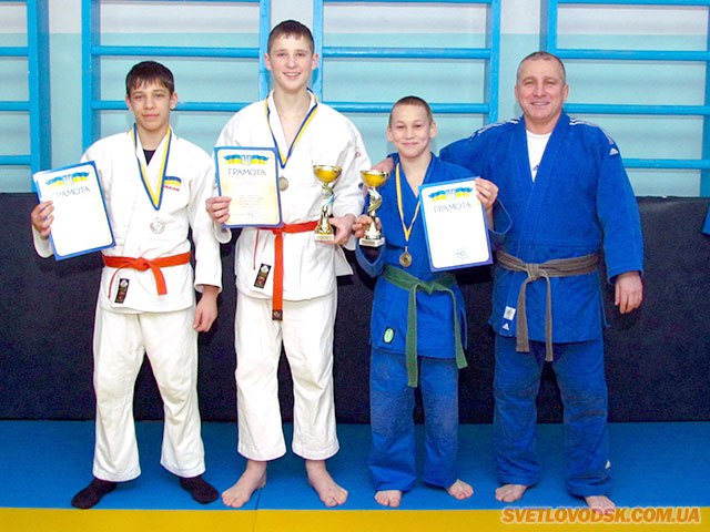 Сезон дзюдо відкрито: у світловодців чотири медалі