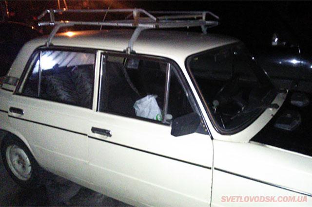 У Світловодську затримано чоловіка, який намагався викрасти автомобіль