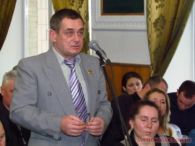 Олег Долгий — директор КП «Добробут»