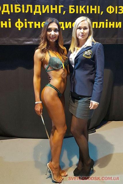 Марина Кузьменкова стала бронзовим призером Відкритого Кубка Черкас із бодібілдингу