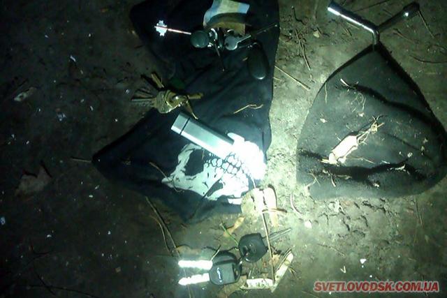 Патрульні поліцейські затримали зловмисника, який намагався здійснити крадіжку із гаража