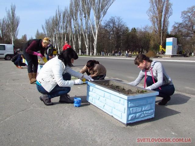 ФОТОРЕПОРТАЖ: Весняна толока у Світловодську