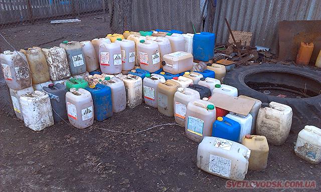 Працівники поліції встановили крадія дизельного палива