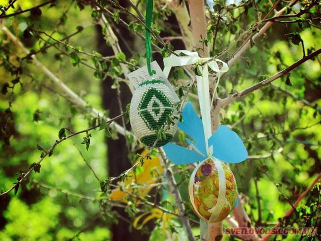 Конкурс писанки: Прикрашаємо Великоднє дерево!