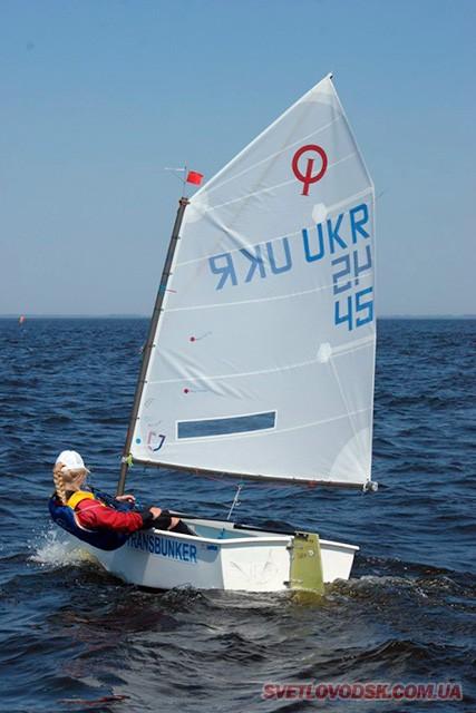 Всеукраїнські змагання «Вітрила надій» відбудуться у Світловодську