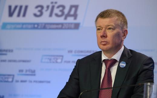 Ларін став співголовою політвиконкому «Опозиційного блоку»