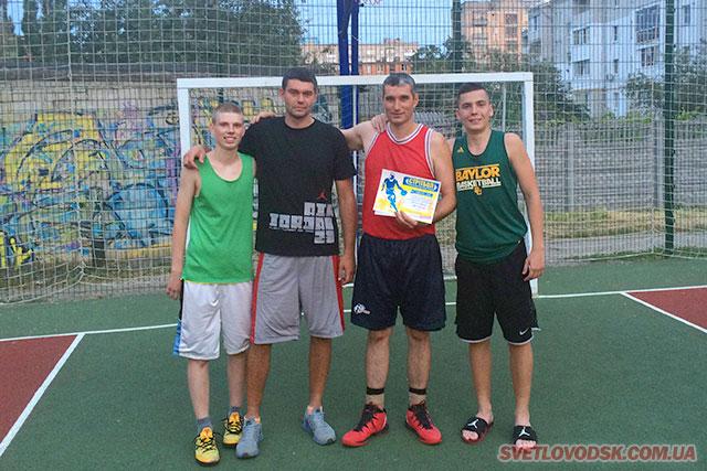 Світловодська команда — переможець турніру з вуличного баскетболу