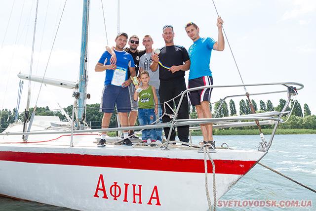 Вітрильна регата до Дня флоту України відбулася у Світловодську