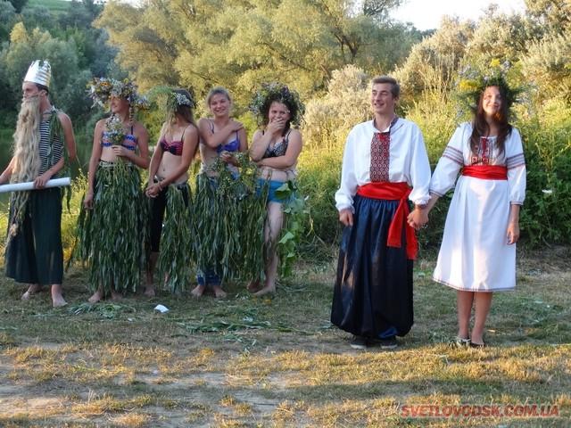 Святкування Івана Купала у селі Подорожнє