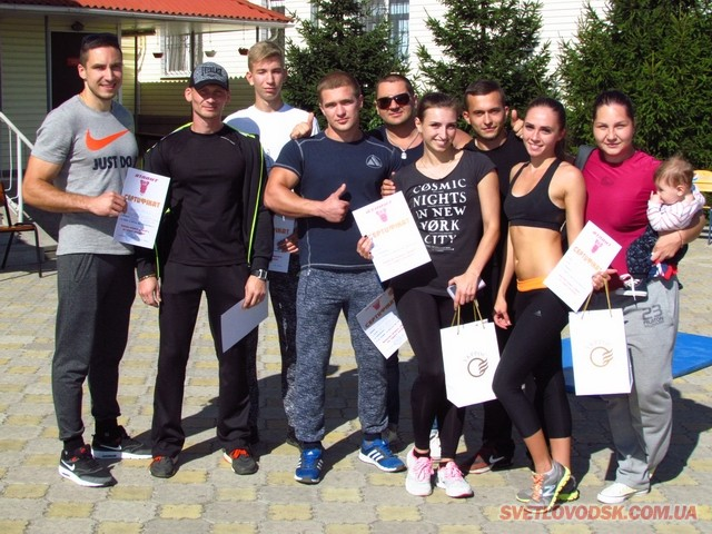 Вперше у Світловодську відбулися змагання з кросфіту