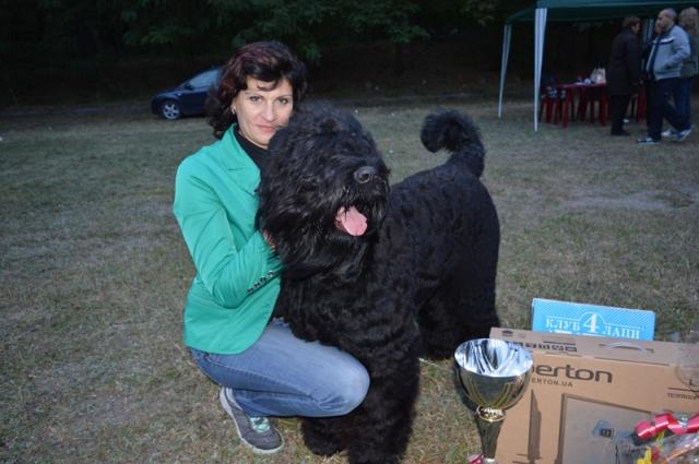 Всеукраїнська виставка собак відбулася у Світловодську – переміг Чорний тер'єр з Полтави