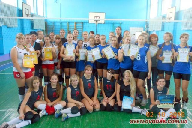 Перемога світловодських волейболісток у Каневі
