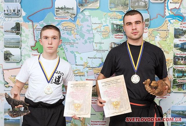 Світловодці — чемпіони з китайського боксу