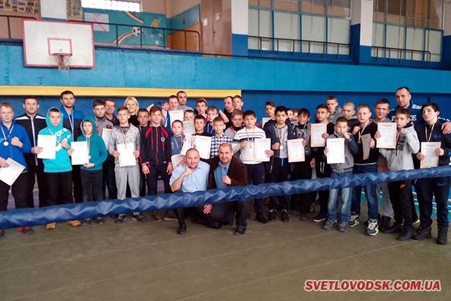 Відкрита першість КДЮСШ №1 з боксу відбулася у Світловодську