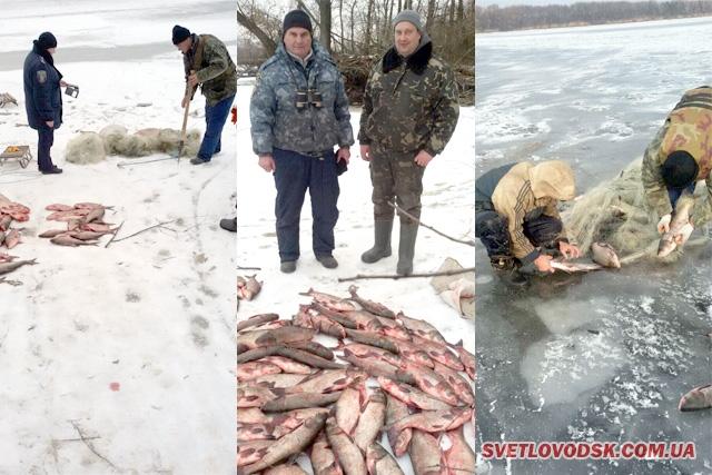 Цибульницька затока та охоронна зона Кременчуцької ГЕС — в полі зору інспекторів рибохорони