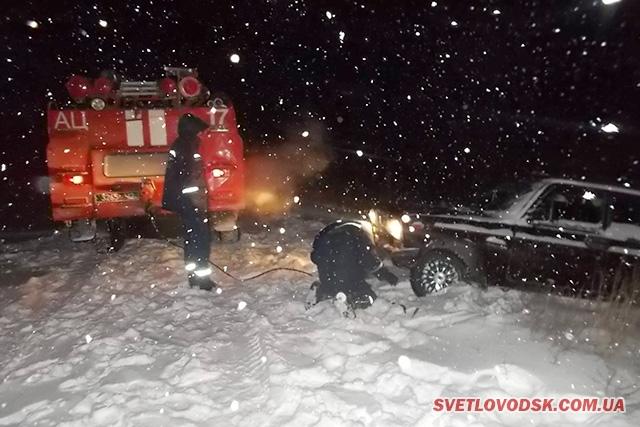 Рятувальникам сніг додав роботи