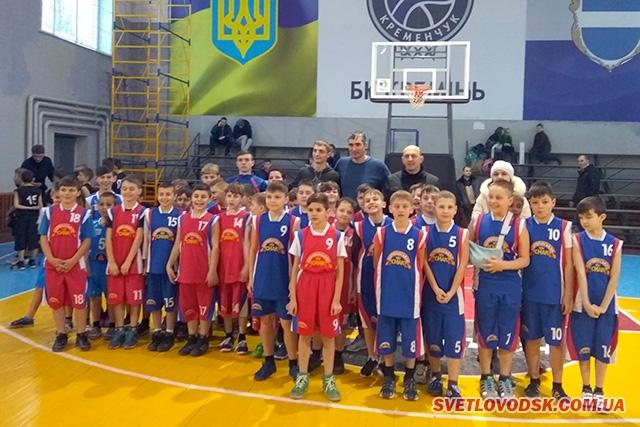 Вдалий старт юних світловодських баскетболістів