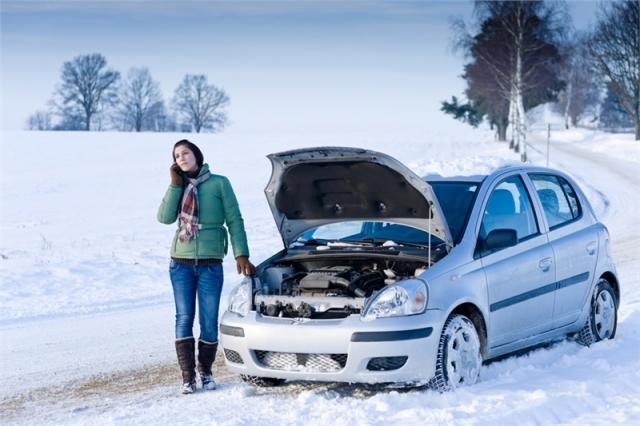 До уваги водіїв! Зважайте на сильні морози!
