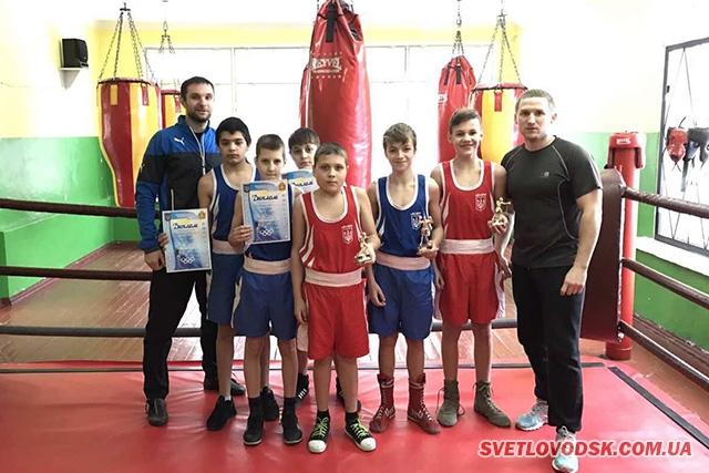 Світловодські боксери — переможці та призери обласних змагань