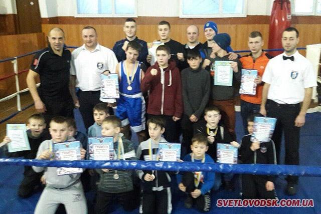 Світловодські боксери взяли золото і срібло в Миргороді