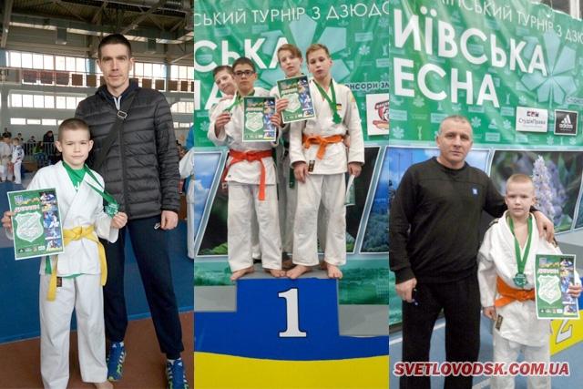 «Київська весна» принесла світловодським дзюдоїстам чергові перемоги