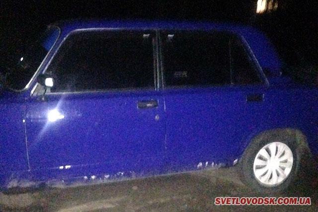 Група швидкого реагування викрила зловмисників, які скоїли крадіжку з автомобіля