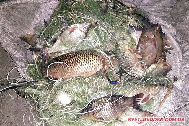 На Кіровоградщині поліцейські вилучили у браконьєра незаконний улов на понад 11 тисяч гривень