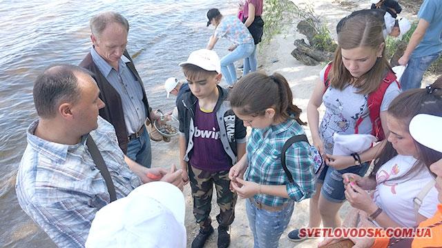 Завдяки спільному проекту Олеся Довгого та МАН,  школярі відчули себе дослідниками природи