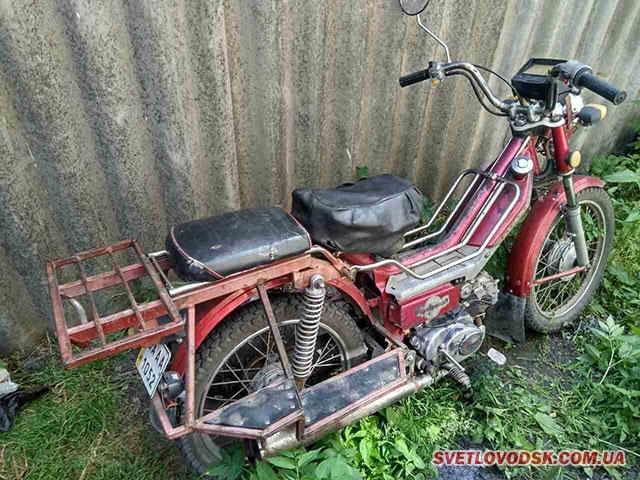 Крадіїв  мопеду «Delta» та скутера «Suzuki 2» знайшли поліцейські
