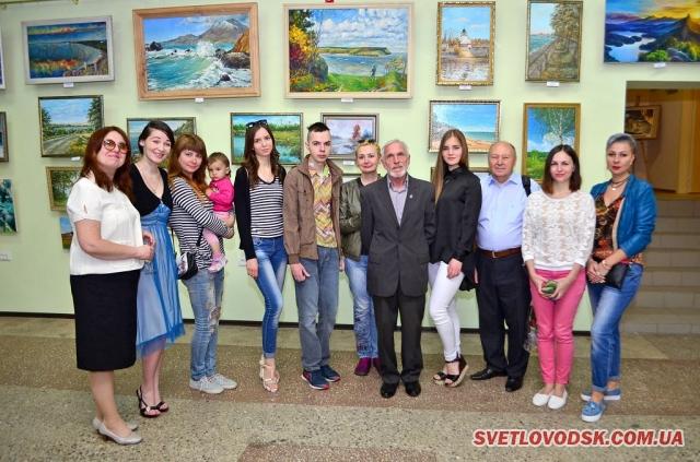 Арт галерея «Наше місто» — центр талановитих майстрів і художників Світловодщини