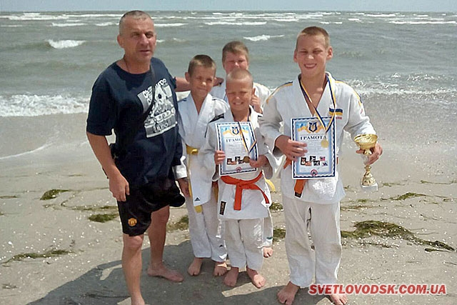 Станіслав Рибін виборов Кубок Азовського моря