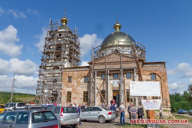 Молебень за Україну відбувся у Спасо-Преображенському храмі