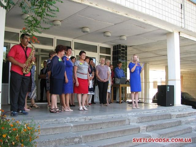 Сьома школа зустрічала лідерів профспілок області