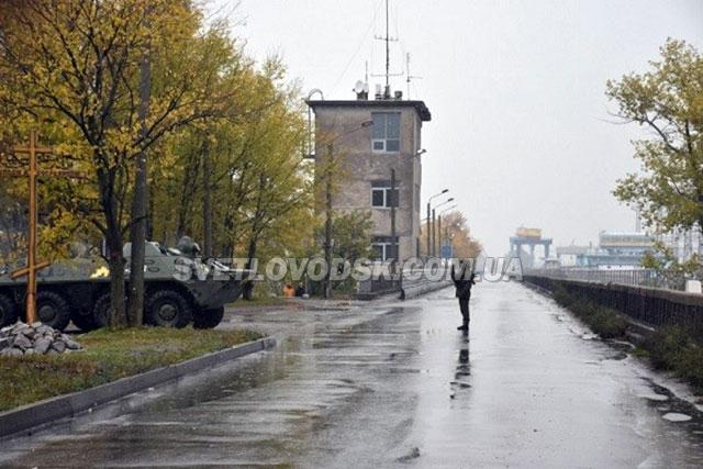 На Кременчуцькій ГЕС з військовою технікою шукали умовних диверсантів