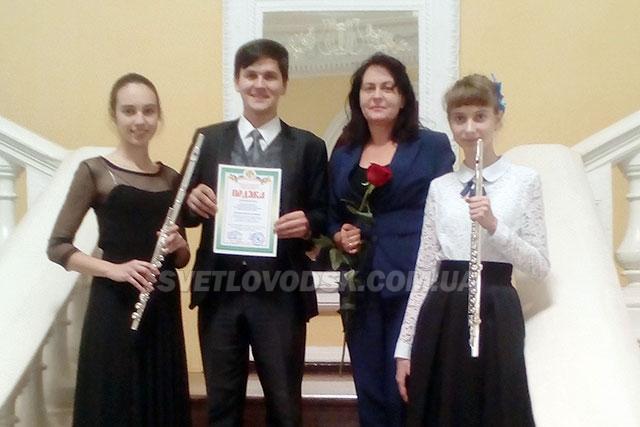 Переможці обласного мистецького проекту – учні дитячої музичної школи!