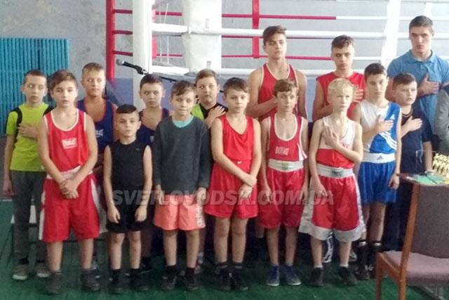 У командному заліку боксери Світловодська перші