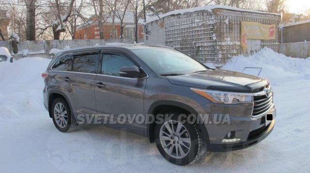 У Світловодську викрали автомобіль Toyota Highlander (ДОПОВНЕНО)