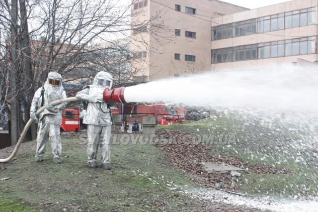 Особовий склад 17-ї ДПРЧ готовий до дій на великих пожежах та аваріях