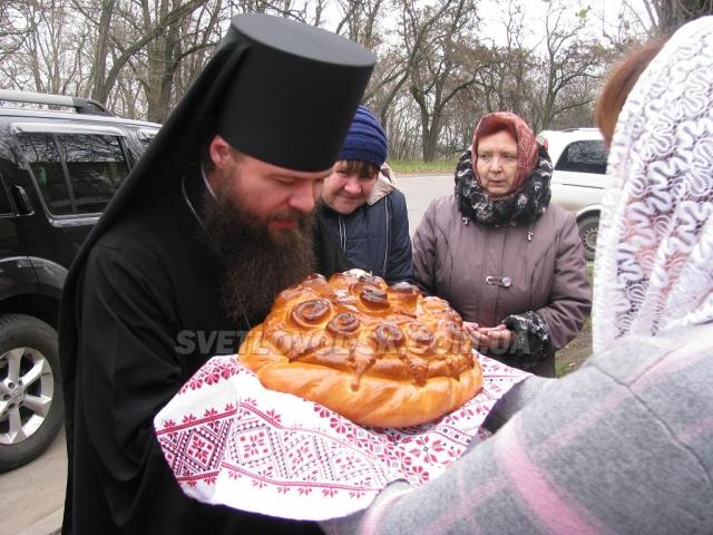 Єпископ Боголєп зустрівся з прихожанами церкви Введення Пресвятої Богородиці