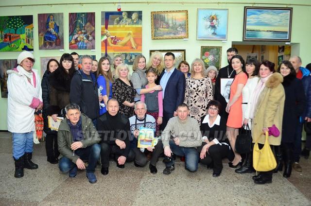 """Арт-галерея """"Наше місто"""" відсвяткувала свою першу річницю (ДОПОВНЕНО)"""