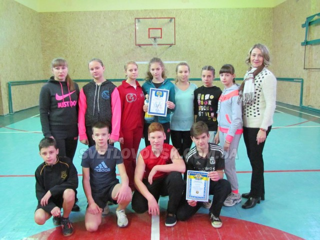 Переможець першості міста з волейболу 2017 — школа №2