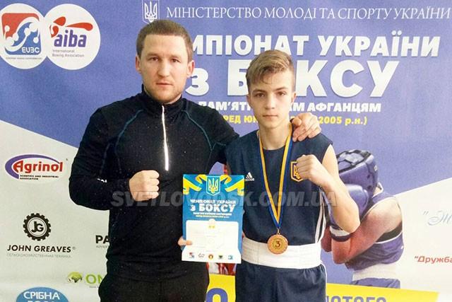 Дмитро Селевко — бронзовий призер основного чемпіонату з боксу
