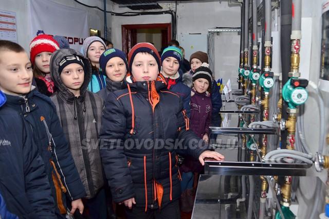 Великоандрусівська школа — перша в Україні, де встановили шведську систему опалення