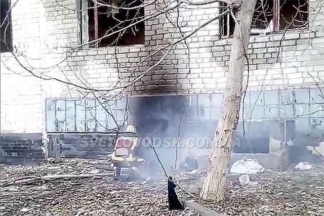 Гуртожиток на вулиці Героїв України, 94а у Світловодську підпалили