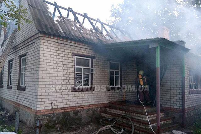 Під час гасіння пожежі у житловому будинку рятувальники виявили тіло загиблої жінки