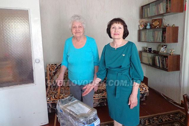 Візок для людини з інвалідністю прибув у Світловодськ із-за океану