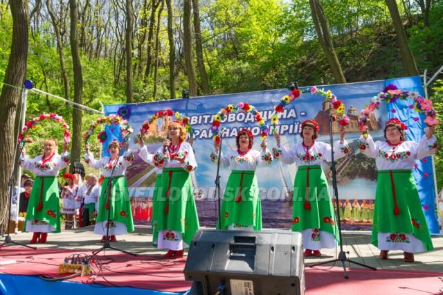 Фестиваль «Світловодщина 2018» об'єднав всі території краю в єдине ціле