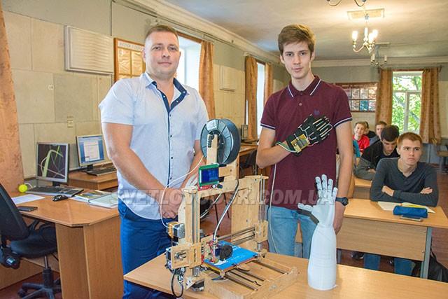 Власна розробка робототехніки у Світловодському політехнічному коледжі